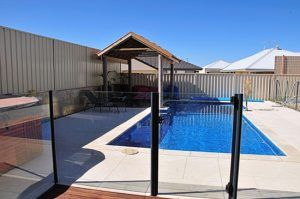 Semi-Frameless Pool Fencing