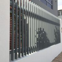 Thin Razor-Look Aluminium Fencing
