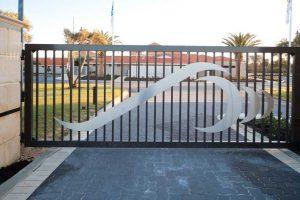 Sliding Gate at a Perth property