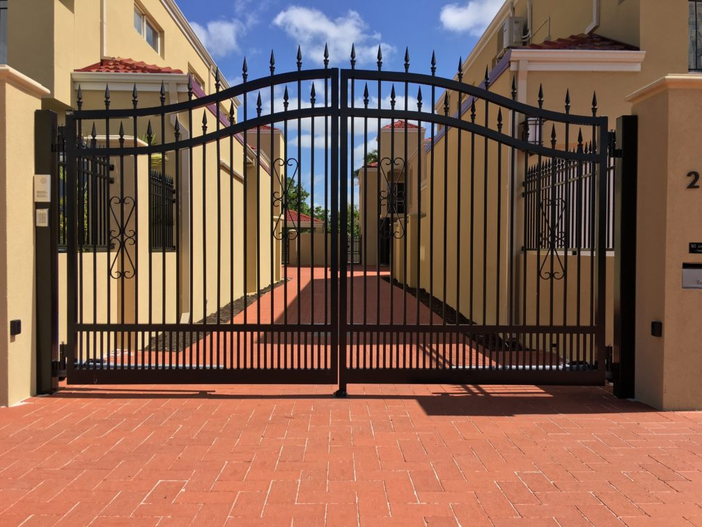 Can You Install Fencing Or Gates Into Brick Paving Or On