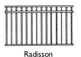 Radisson fencing drawing