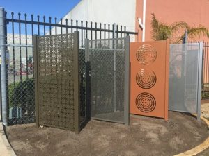 Decorative Screen Fencing Samples