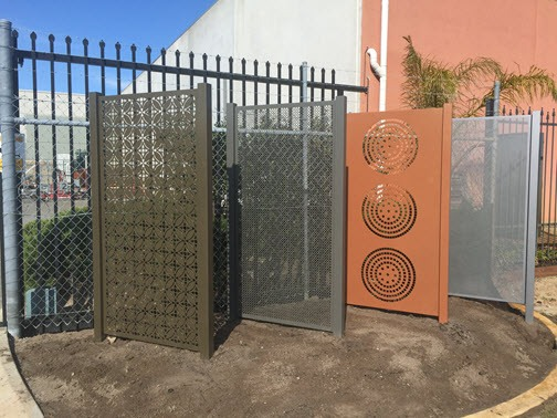 Decorative Screen Fencing Samples