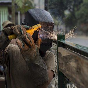 Fence welding