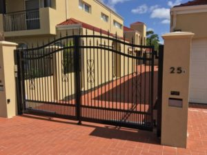Double Swing Gate at a Perth Home