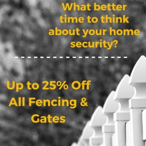What Better Time to Secure Your Home - 25% Off - Cover