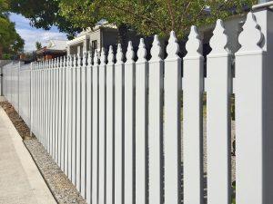 White Cottage Fence