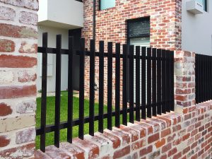 Aluminium Slat Fence for a Mount Hawthorn Home