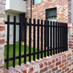 Aluminium Slat Fence for a Mount Hawthorn Home